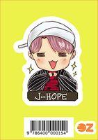 """Глянцевая наклейка """"BTS. J-Hope"""" (арт. 0015)"""