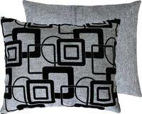 "Подушка ""Геометрия"" (37x47 см; серая)"