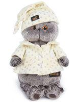 """Мягкая игрушка """"Басик в пижаме"""" (22 см)"""