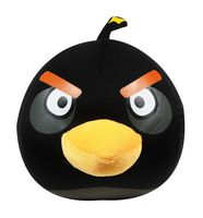 """Игрушка-антистресс """"Angry Birds"""" (большая; черная)"""