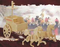 """Сборная деревянная модель """"Античная боевая колесница"""""""