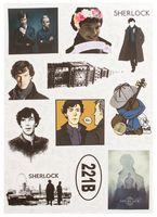 """Набор виниловых наклеек №623 """"Шерлок"""""""