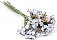 "Ветки для флористики ""Светло-голубой букет"" (арт. DKB026J)"