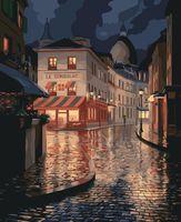 """Картина по номерам """"Улица в Париже"""" (400x500 мм)"""