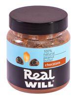 """Паста арахисовая """"Real Will. С шоколадом"""" (500 г)"""