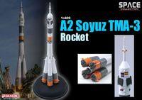"""Космический корабль """"A2 Soyuz TMA-3 Rocket"""" (масштаб: 1/400)"""