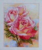 """Вышивка крестом """"Розовые мечты"""""""
