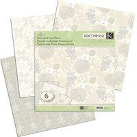 """Набор бумаги для скрапбукинга """"Блестящая элегантность"""" (310х310 мм; 6 листов)"""