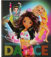 """Раскраска """"TOPModel. Dance"""" (+ наклейки)"""