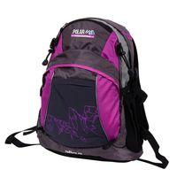 Рюкзак П1563 (21 л; чёрно-фиолетовый)