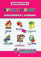 Русский язык. 1 класс. Знакомимся с буквами