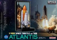 "Космический корабль ""Space Shuttle Atlantis w/SRB (STS-71)"" (масштаб: 1/400)"