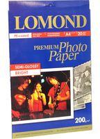 Фотобумага полуглянцевая односторонняя Lomond (20 листов; 200 г/м2; А4)