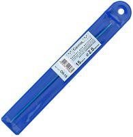 Крючок для вязания (синий; металл; 2.0 мм)