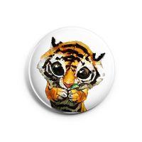 "Значок маленький ""Тигр"" (арт. 964)"