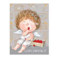 """Пакет бумажный подарочный """"Гапчинская"""" (32x24,5x8,5 см; в ассортименте; продается только в розничных магазинах OZ)"""