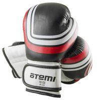 Перчатки боксёрские LTB-16101 (L/XL; чёрные; 10 унций)