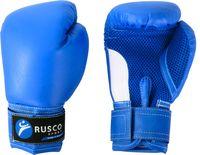 Перчатки боксёрские детские (6 унций; синие)