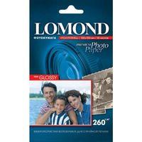 Фотобумага полуглянцевая односторонняя Lomond (20 листов, 260г/м2, формат А6)