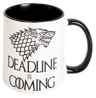 "Кружка ""Deadline is coming"""