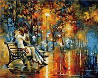"""Картина по номерам """"Страстный вечер"""" (400х500 мм; цветной холст)"""