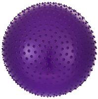 Мяч гимнастический массажный GB-301 (75 см; фиолетовый)