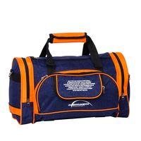 Сумка спортивная 6065с (37,5 л; сине-оранжевая)
