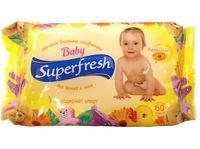 """Влажные салфетки детские """"Superfresh"""" (60 шт.)"""