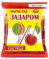"""Мармелад """"Задаром"""" (210 г; арбуз и черешня)"""