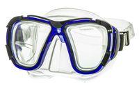 Маска для плавания 423 (ПВХ; синяя)