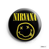 "Значок маленький ""Nirvana"" (арт. 077)"