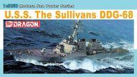 """Эсминец """"U.S.S. The Sullivans DDG-68"""" (масштаб: 1/350)"""