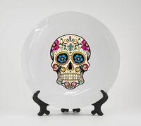 "Тарелка ""Мексиканский череп"" (135)"