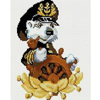 "Алмазная вышивка-мозаика ""Капитан"" (200x300 мм)"