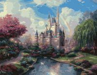 "Картина по номерам ""Замок"" (500x650 мм; арт. MMC057)"
