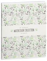 """Тетрадь полуобщая в клетку """"Watercolor Collection"""" (48 листов; в ассортименте)"""