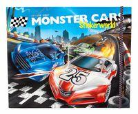 """Раскраска """"Monster Cars"""" (c наклейками)"""