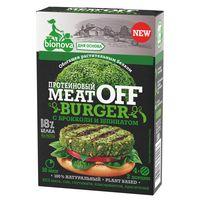 """Смесь для овощного бургера """"MeatOff"""" (100 г; шпинат-брокколи)"""