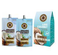 """Подарочный набор """"Love coconut"""" (Шампунь, бальзам)"""