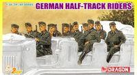 """Набор миниатюр """"German Half-Track Riders"""" (масштаб: 1/35)"""