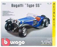 "Модель машины ""Bburago. Bugatti Type 55"" (масштаб: 1/24; арт. 18-25035)"