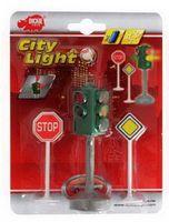 """Игровой набор """"Светофор и дорожные знаки"""" (со световыми эффектами)"""