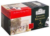 """Чай черный """"Ahmad Tea. Английский завтрак"""" (40 пакетиков)"""
