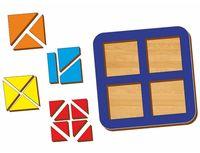 """Рамка-вкладыш """"Сложи квадрат. Уровень 2"""" (арт. 064204)"""