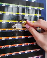 "Скретч-календарь ""Artifact"" (100х33 см)"