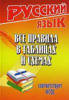 Русский язык. Все правила в таблицах и схемах