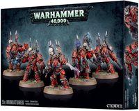 """Набор миниатюр """"Warhammer 40.000. Chaos Space Marines Terminators"""" (43-19)"""
