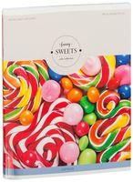 """Тетрадь полуобщая в клетку """"Funny Sweets"""" (48 листов; в ассортименте)"""