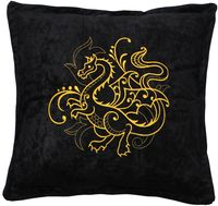 "Подушка ""Дракон"" (48x48 см; арт. 01-430)"