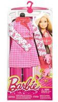 """Одежда для куклы """"Барби. Гламур. Красное пальто с аксессуарами"""""""